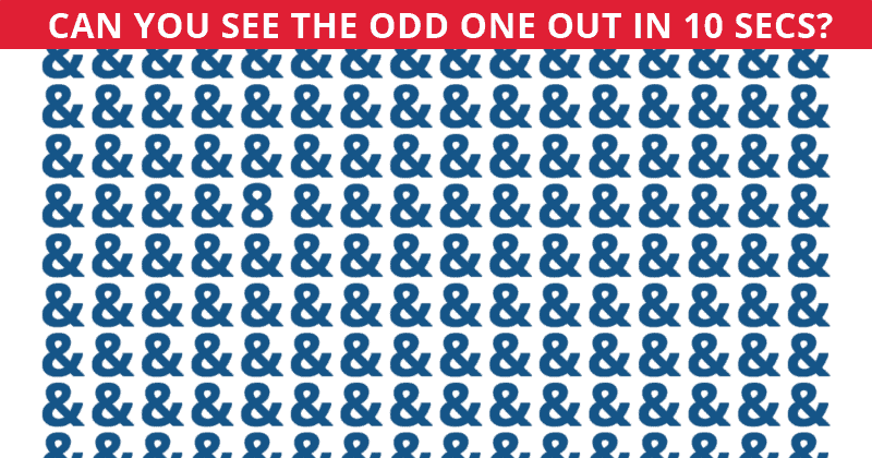 Only 1 In 10 People Can Achieve 100% In This Odd One Out Quiz. How About You?