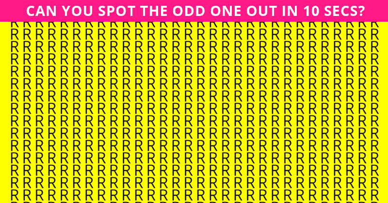 Only 1 In 40 People Can Achieve 100% In This Odd One Out Test. How About You?