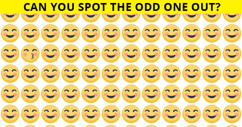 Almost No One Can Beat This Difficult Odd One Out Visual Challenge. How About You?