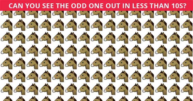This Odd One Out Quiz Will Determine Your Visual Perception Abilities In Less Than One Minute