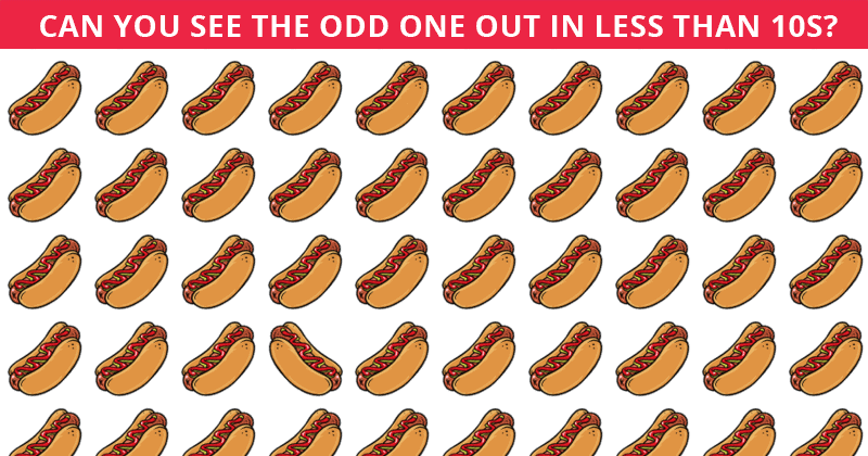 Only People With An Unusually High IQ Will Be Able To Ace This Odd Ones Out Test! Can You?