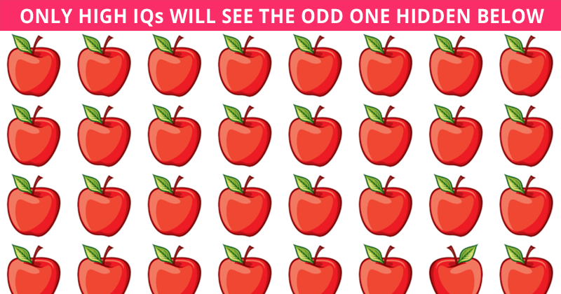 Challenge Time: No One Can Solve This Test. Can You Spot The Odd One Out In Less Than 10 Seconds?