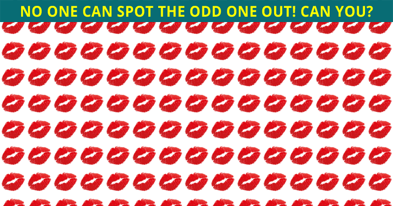 Only 4% Of People Can Beat This Odd Ones Out Visual Game. Are You Up To The Challenge?