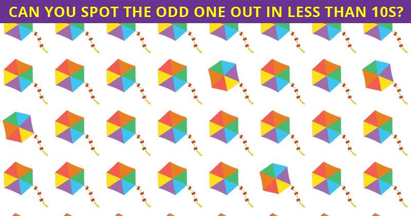 Almost No One Can Beat This Tough Odd One Out Quiz. How About You?