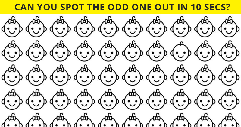 Only 4 Out Of 100 People Will Graduate From This Odd One Out Visual Challenge!