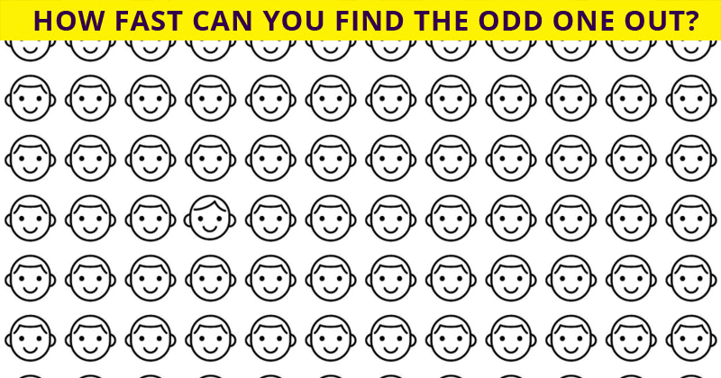 Only 1 In 30 Sharp-Eyed People Can Ace This Odd One Out Visual Test. Are You Up To The Task?