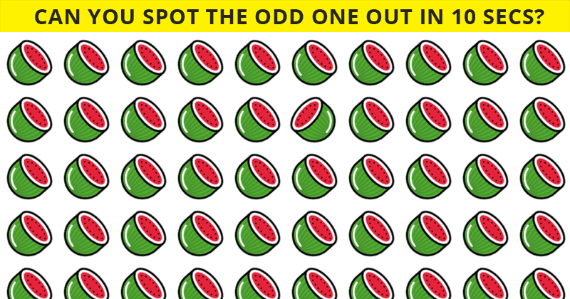 How Quickly Can You Find The Odd Ones Out In This Difficult Visual Challenge?