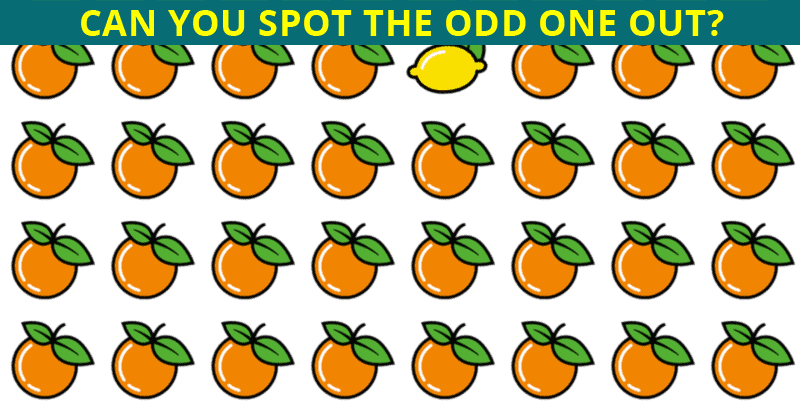 Can You Pass This Incredibly Difficult Odd Ones Out Visual Quiz?