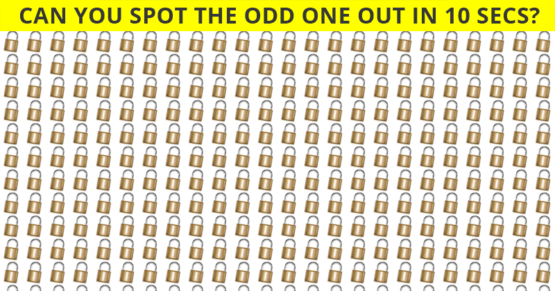 Only 1 In 35 People Can Beat This Odd One Out Visual Puzzle. Are You Up To The Challenge?