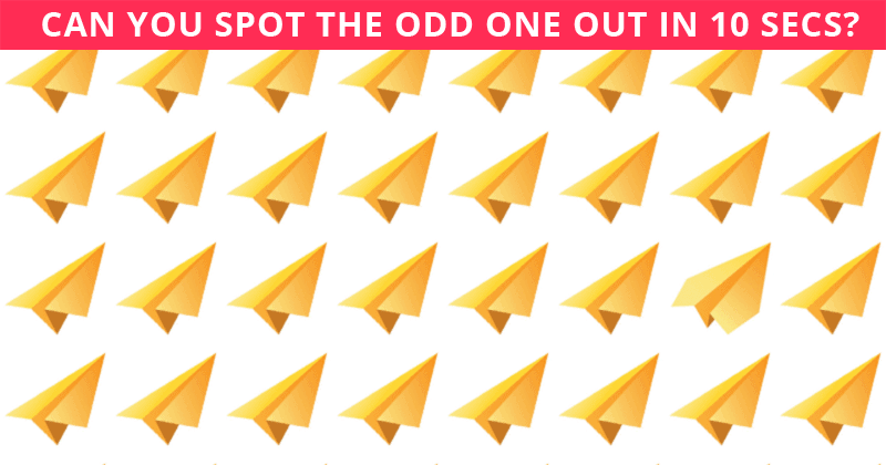 Nobody Can Solve This One. Can You Spot The Odd One Out Immediately?