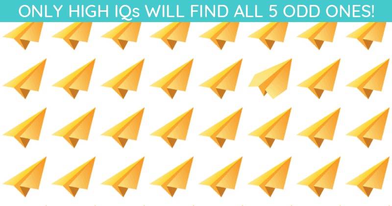 Literally Zero People Can Get 100% On This Odd One Out Visual Quiz. Prove Us Wrong