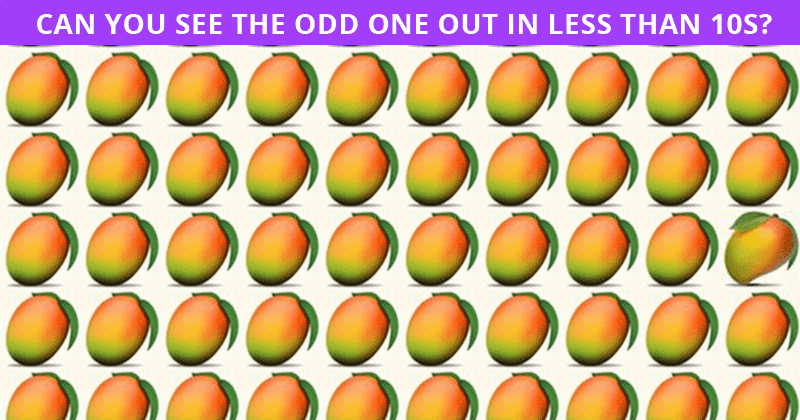 Only 1 In 30 Sharp-Eyed People Can Beat This Odd One Out Quiz. Are You Up To The Task?