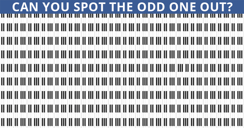 This Odd One Out Puzzle Will Determine Your Visual Perception Talents In About 60 Seconds