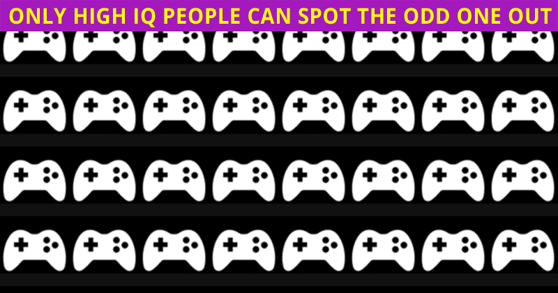 Try This Simple Odd One Out Challenge To Determine The Sharpness Of Your Vision