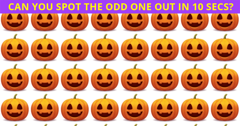 This Odd One Out Visual Test Will Determine Your Visual Perception In About 60 Seconds