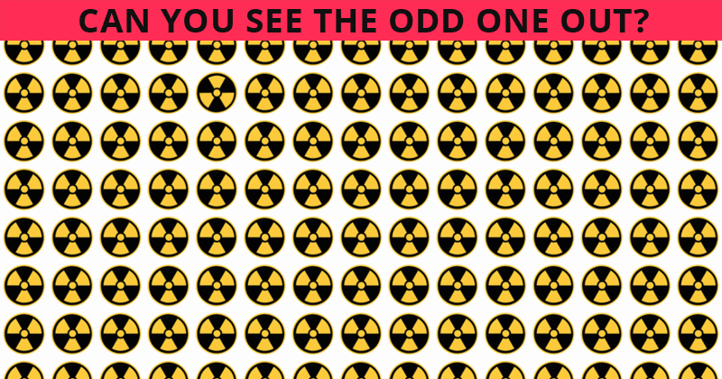 Only People With An Unusually High IQ Will Be Able To Ace This Odd Ones Out Visual Puzzle! How About You?