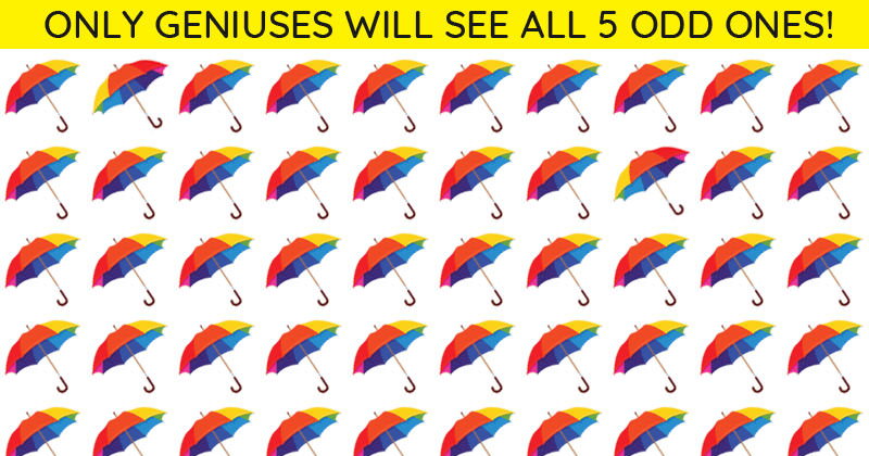 Only 8 Out Of 100 People Will Graduate From This Tricky Odd One Out Visual Quiz! Will You?