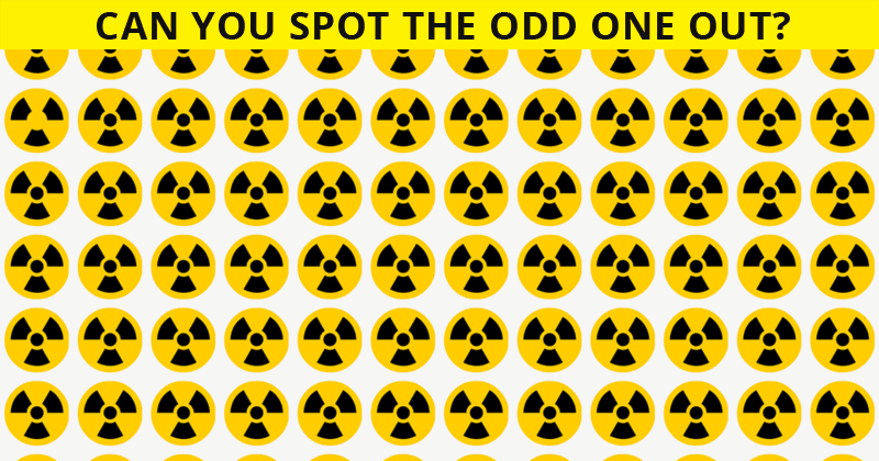 If You Can See The Odd One Out Within 30 Seconds, You Have An Extremely Sharp Brain!