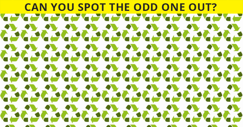 Only 12% Of People Can Beat This Odd One Out Puzzle. Are You Up To The Challenge?