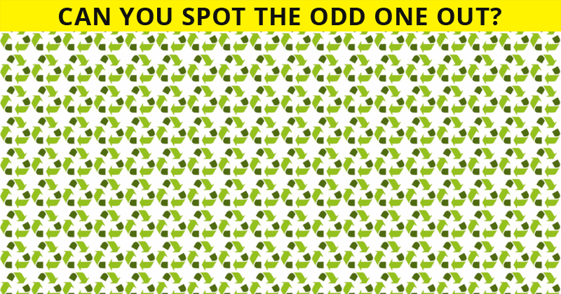 Only 1 In 30 Sharp-Eyed People Can Beat This Odd One Out Visual Test. How About You?