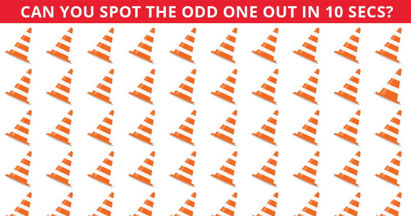 Only About 12% Can Beat This Odd Ones Out Test! Find Out If Your IQ Is High Enough To Pass This Challenge