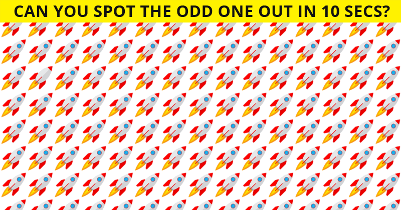 Only 3% Of People Can Beat This Challenging Odd One Out Visual Game. How About You?