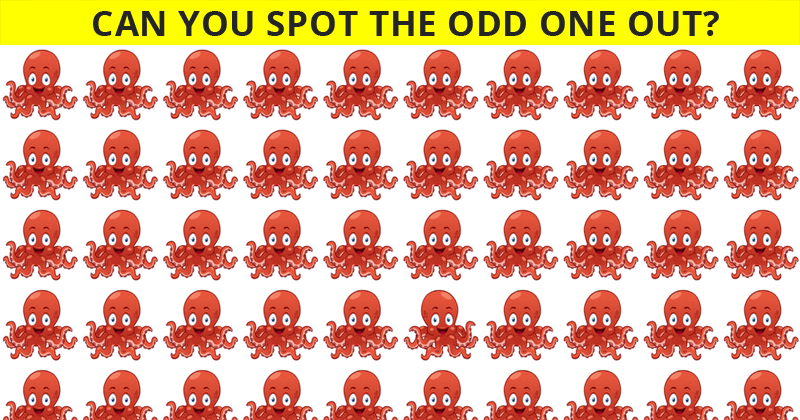 Almost No One Can Beat This Odd One Out Visual Test. How About You?