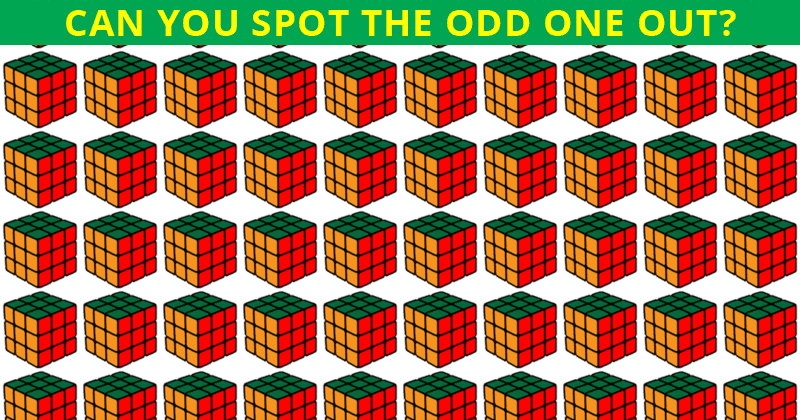Almost No One Can Ace This Odd One Out Visual Test. Prove Us Wrong!