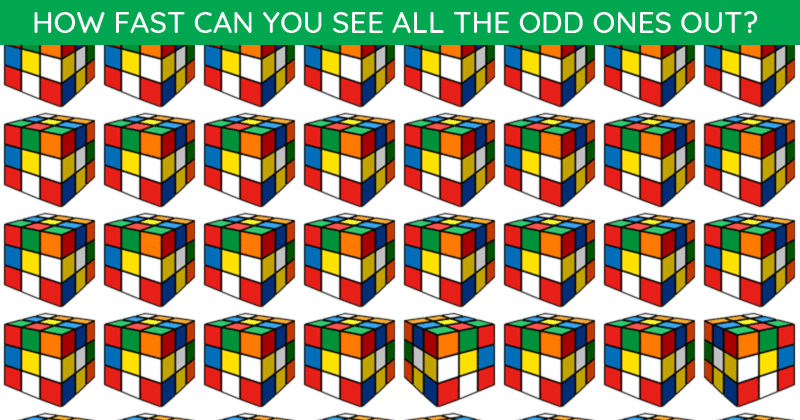 Only 2% Of People Can Achieve 100% In This Multiple Odd Ones Out Puzzle. Are You Up To The Task?