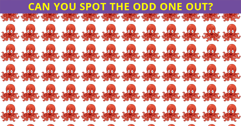 This Odd One Out Visual Game Will Determine Your Visual Perception Talents In One Minute