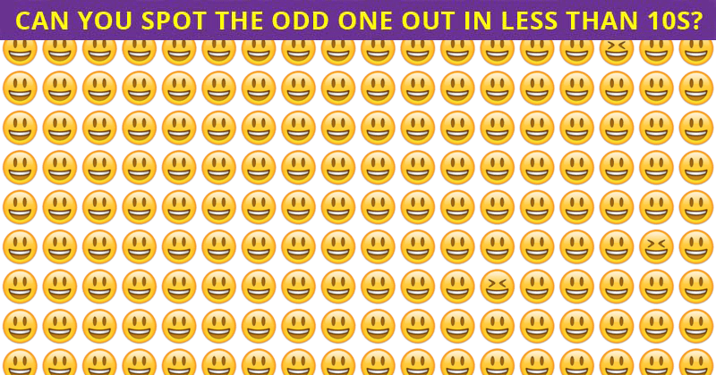 Only 10% Of People Can Achieve 100% In This Multiple Odd Ones Out Puzzle. How About You?