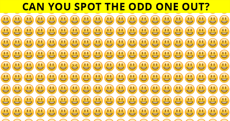 Almost No One Can Beat This Challenging Odd One Out Test. How About You?