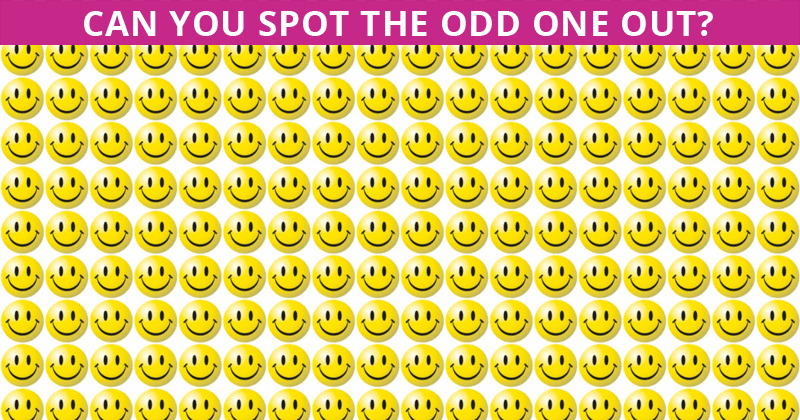 Almost No One Can Achieve 100% In This Odd One Out Visual Test. How About You?