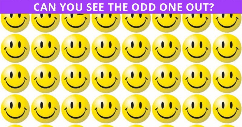 Only 1 In 30 People Can Beat This Tough Odd One Out Test. How About You?