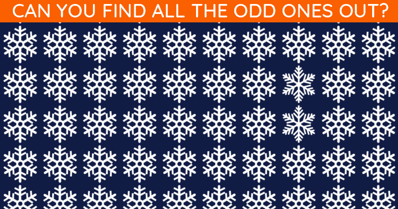 People Are Saying This Popular Odd One Out Puzzle Is Impossible. Prove Us Wrong!
