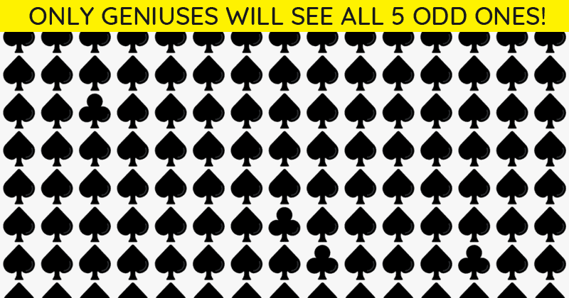 Only People With A High IQ Will Be Able To Best This Multiple Odd Ones Out Visual Game! Can You?