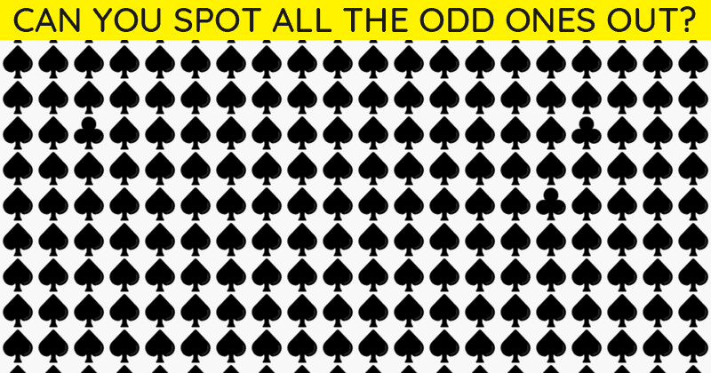 Only People With A High IQ Will Be Able To Ace This Multiple Odd Ones Out Test! Can You?