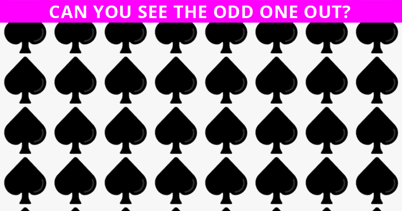 This Odd One Out Visual Puzzle Will Determine Your Visual Perception In About 60 Seconds