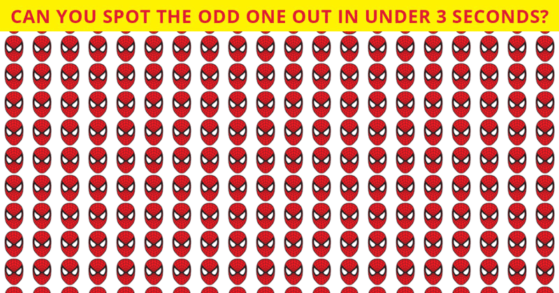 This Odd One Out Test Will Determine Your Visual Perception Talents In One Minute