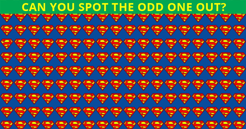 If You Can Pass This Tricky Odd One Out Challenge In 30 Seconds, You Have Unique Eyesight