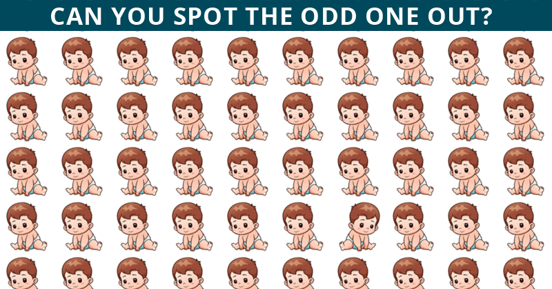 Only 1 In 30 Sharp-Eyed People Can Achieve 100% In This Odd Ones Out Puzzle. How About You?