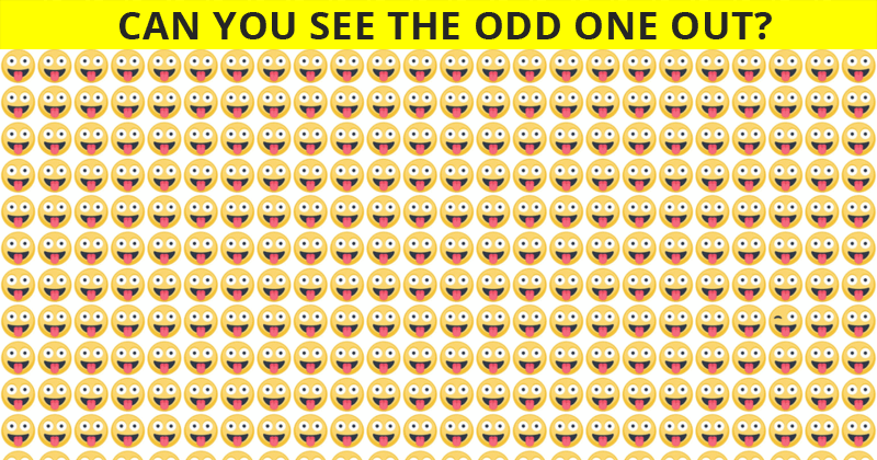 This Odd One Out Test Will Determine Your Visual Perception Talents In About One Minute