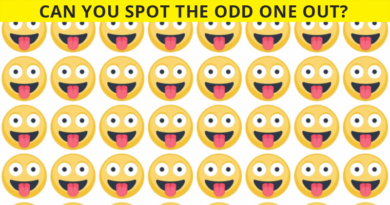 People Are Saying This Odd One Out Test Is Impossible. Prove Us Wrong!