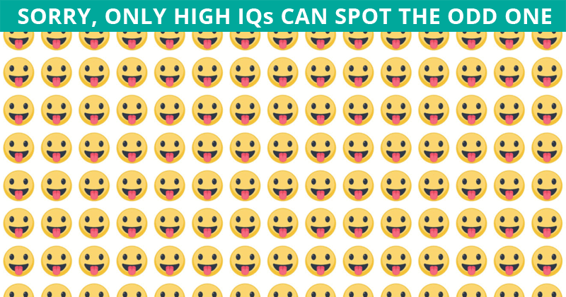 Only 1 In 50 People Can Achieve 100% In This Odd Ones Out Visual Task. Are You Up To The Task?