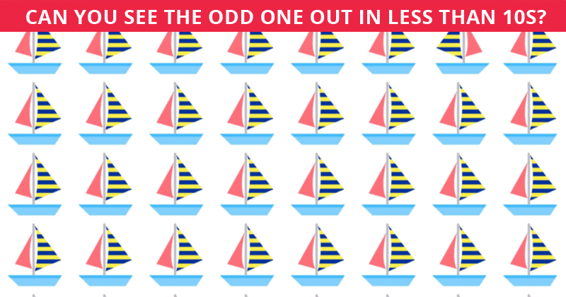 These Brilliantly Creative Odd One Out Visual Games Will Test Your Attention To Detail