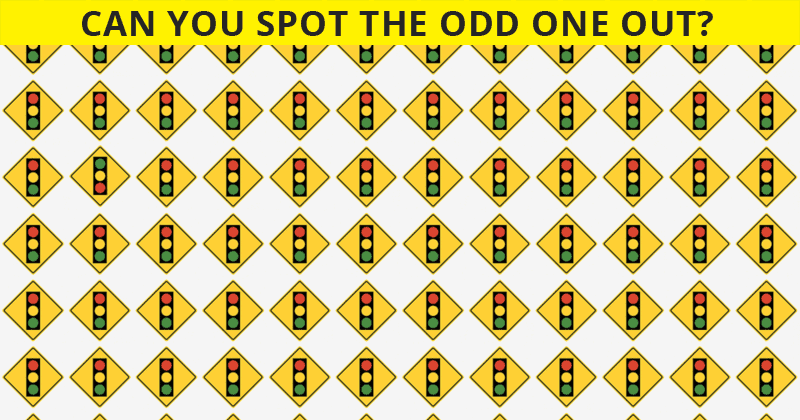 Difficult Visual Quiz: Can You Spot The Odd One Out Within 15 Seconds?