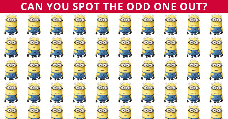 No One Can Score A Perfect 10 On This Tough Odd One Out Visual Puzzle Without Cheating. Prove Us Wrong!