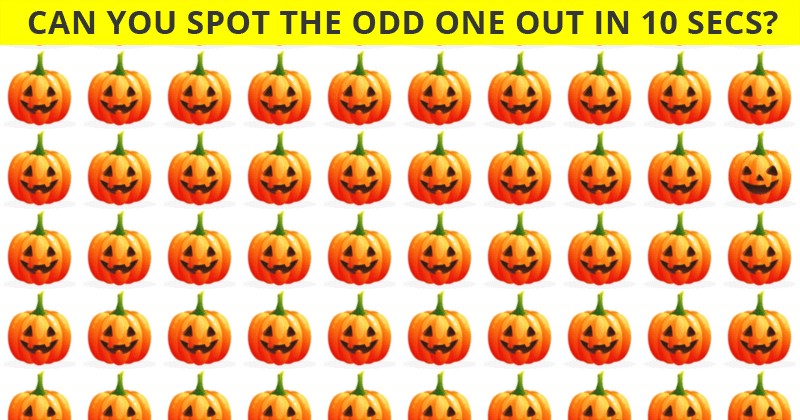 Almost No One Can Ace This Odd One Out Visual Game. Are You Up To The Challenge?