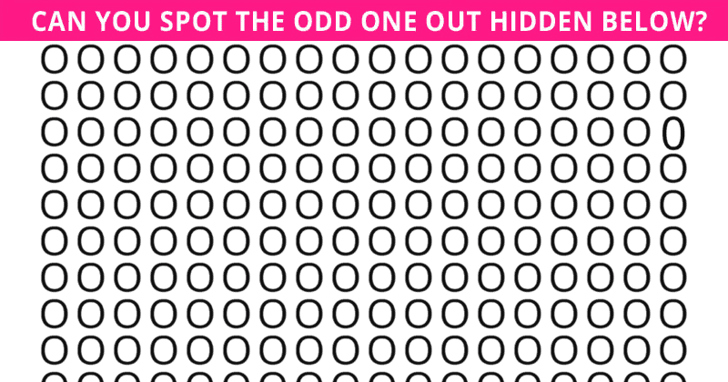 Only 5% Of People Can Beat This Difficult Odd One Out Quiz. How About You?