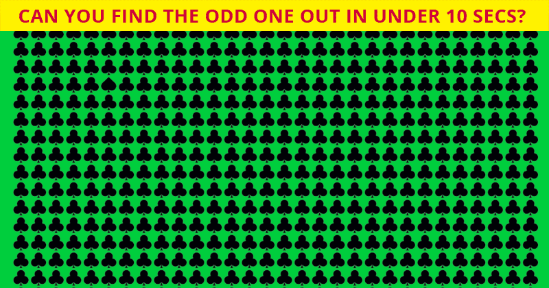 Only 1 In 30 Sharp-Eyed People Can Achieve 100% In This Difficult Odd One Out Quiz. How About You?